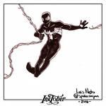Inktober Day-05  Spider-Man