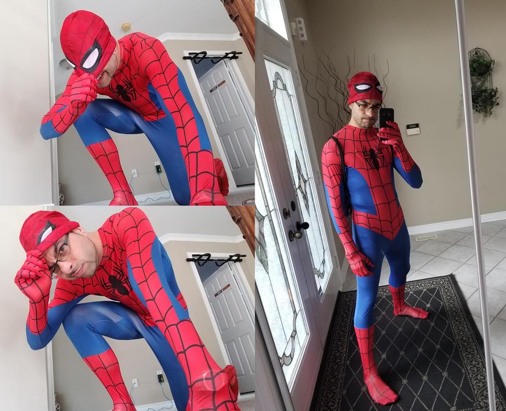 Spidey Costume by Spidersaiyan
