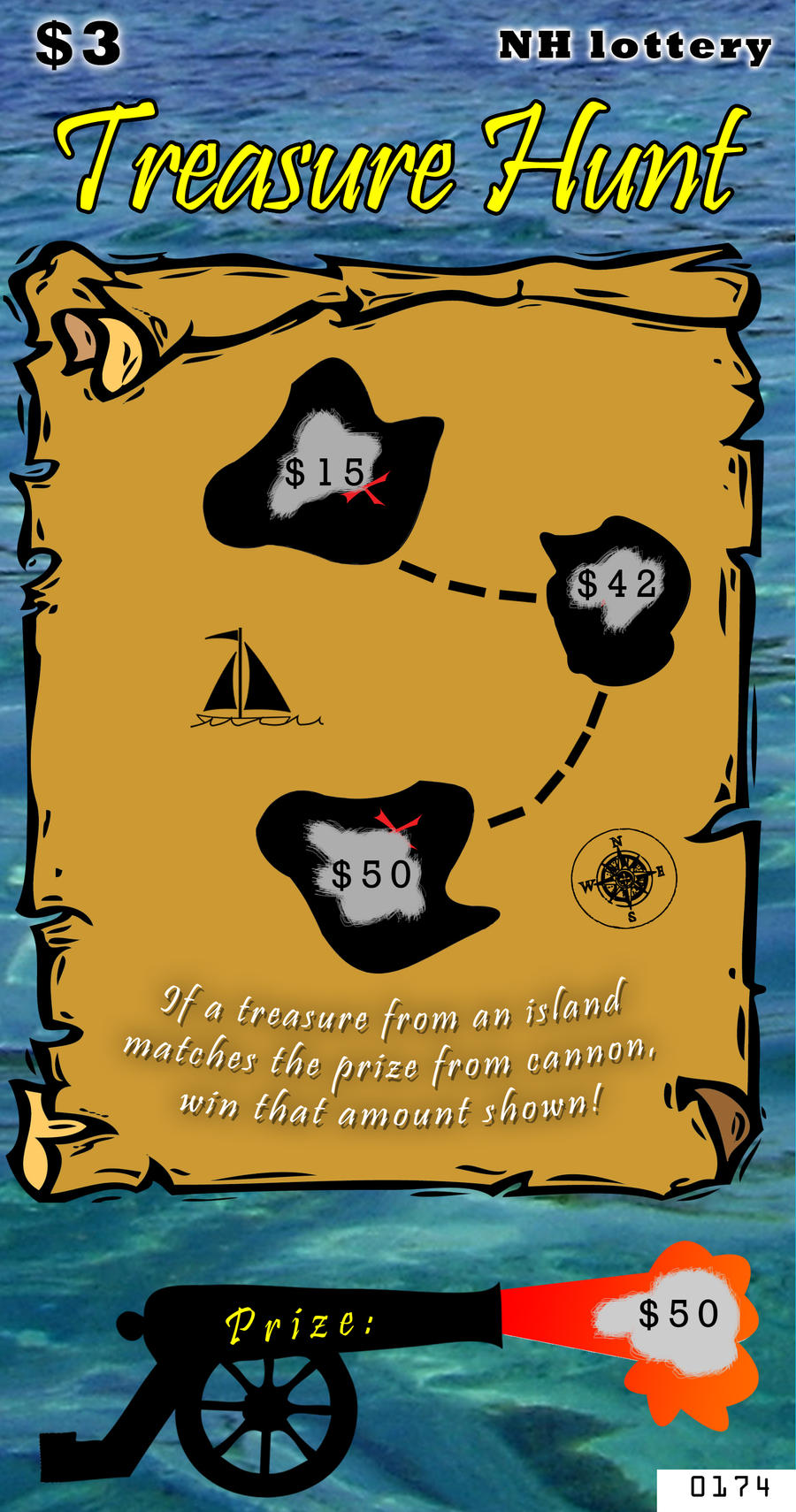pirate loot lottery ticket design by amthetruth on pirate loot lottery ticket design by 1amthetruth
