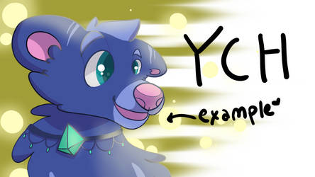 Cheap Cartoon Canine YCH OPEN
