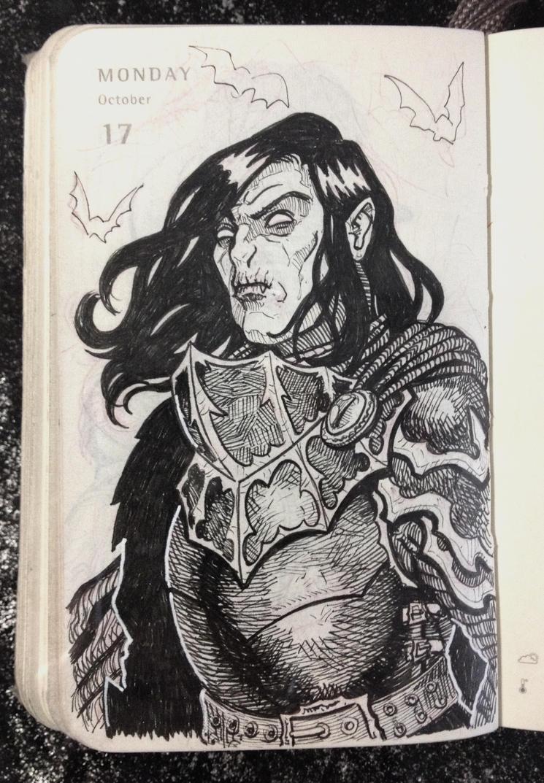 Inktober 17: Vampire Knight by JaKu-Art