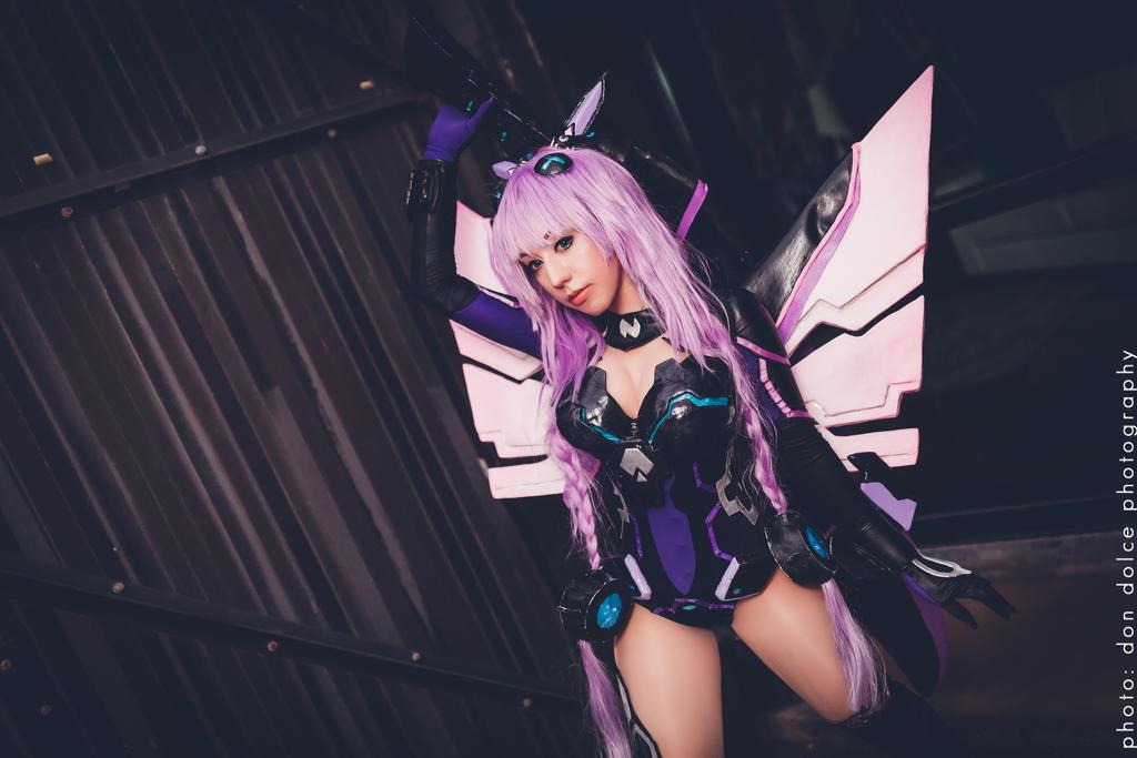 Purple Heart - Hyperdimension Neptunia by DiGiRin