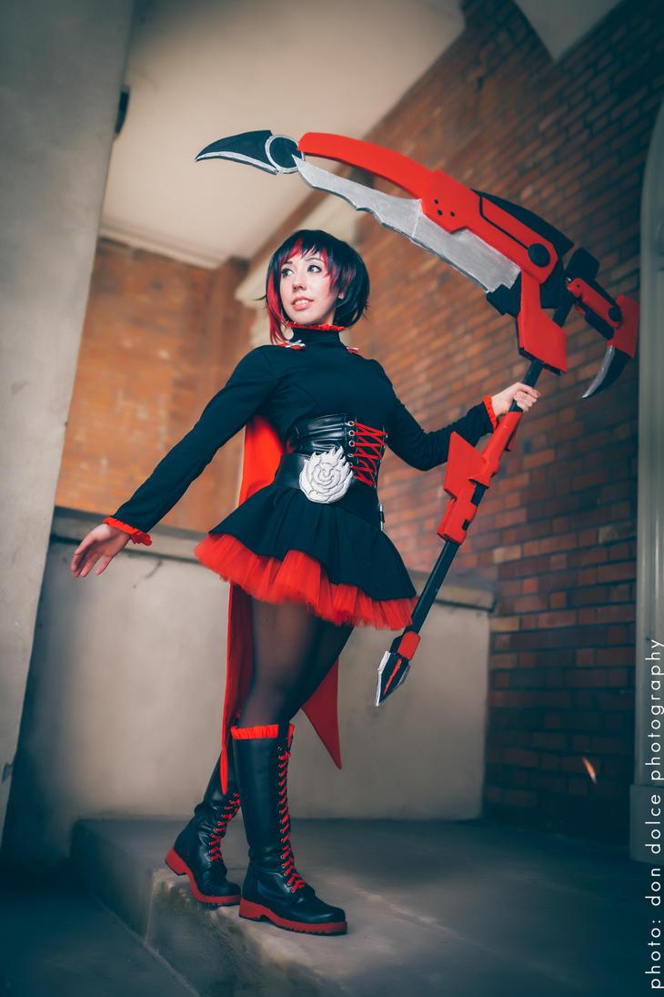Ruby Rose from RWBY by DiGiRin