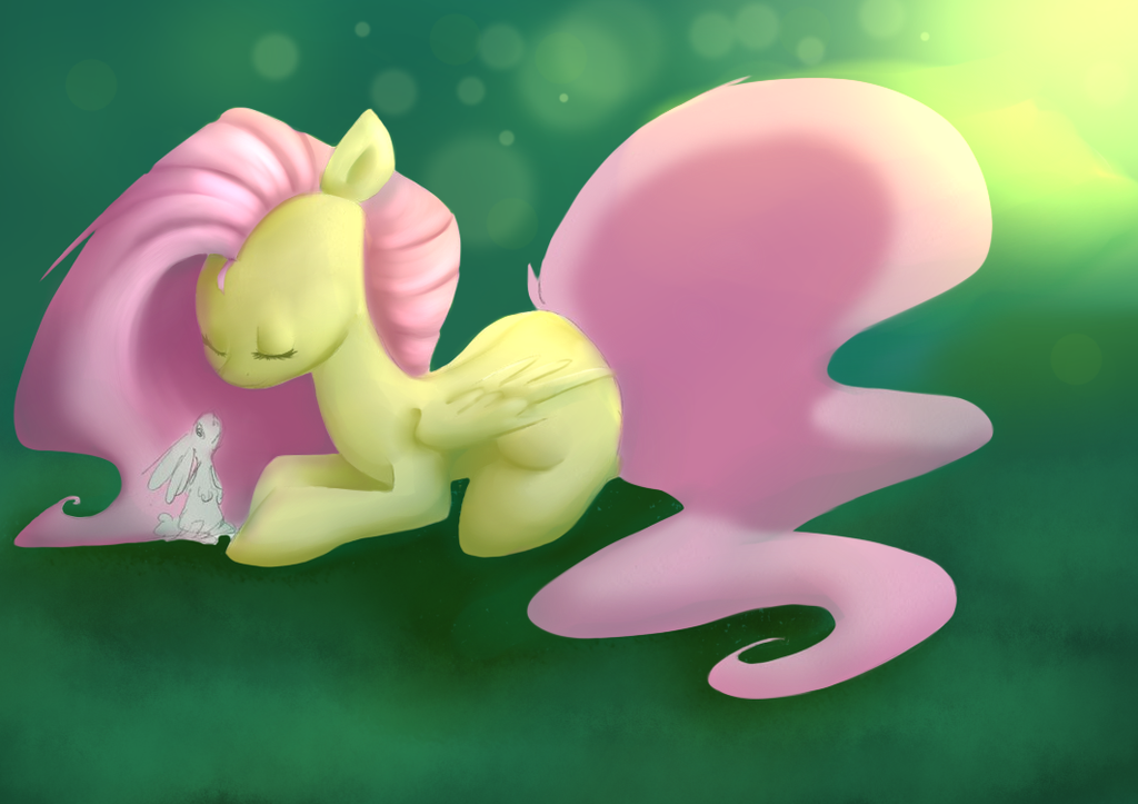 Fluttershy by TheBlueDreamMaker