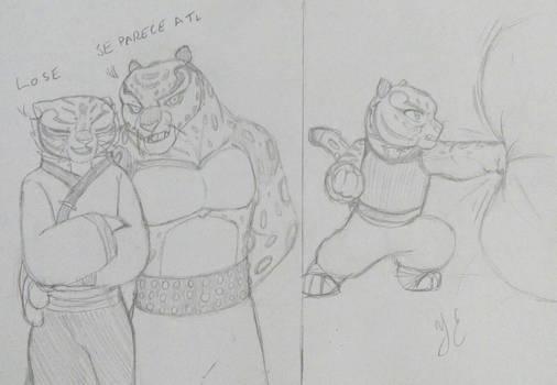 Orgullo- Tigress Tai Lung