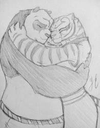 9. Cuddling by AniDragmire