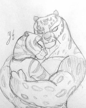 Tigress x Tai Lung