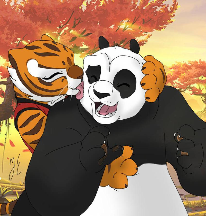 Po and tigress pregnant