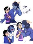 Jim Troll x Claire