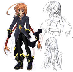 +Crush Joker+ Iura sketch by whitedragoons