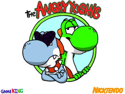 The Angry Yoshis  by GameKing427