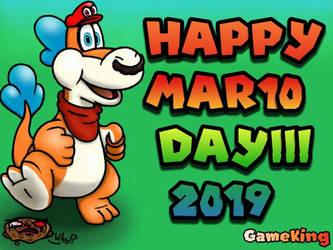 Happy Mario Day 2019 by GameKing427