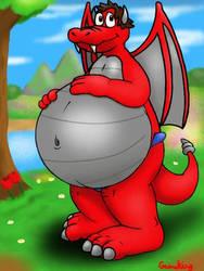 DingoFan's Dragon Form by GameKing427
