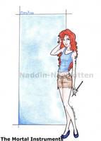 Clary Fray by naddin-nashkitten