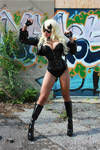 Dinah Drake/Black Canary cosplay