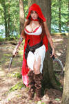 Lethal Red Riding Hood Cosplay