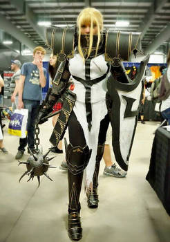Crusader cosplay