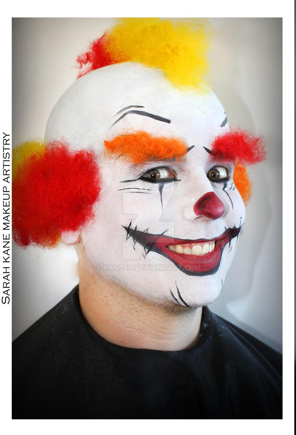 Гримм для клоуна в домашних условиях фото