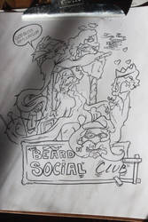 The Mustache and beard social club