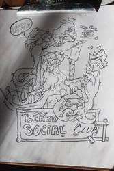 The Mustache and beard social club