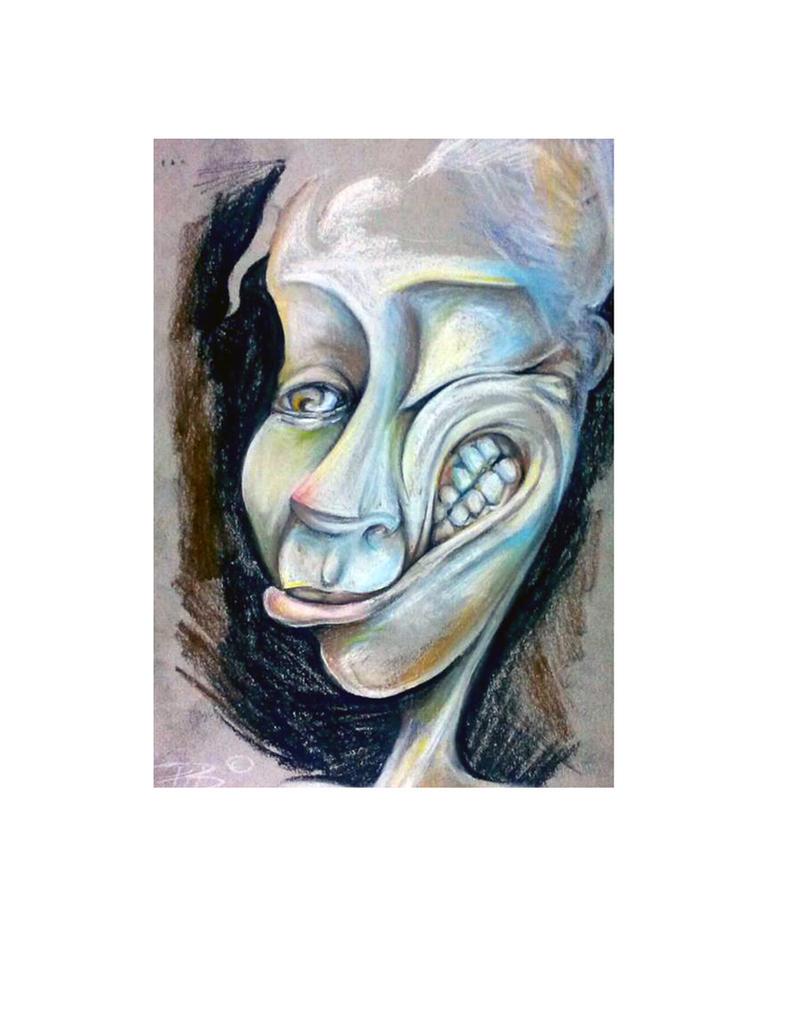Rebate self portrait by Rebate-BrainVomit