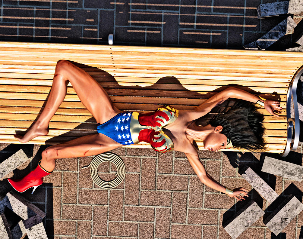 Wonder Woman Defeated Deviantart Wonder woman defeated by fsmcdesigns