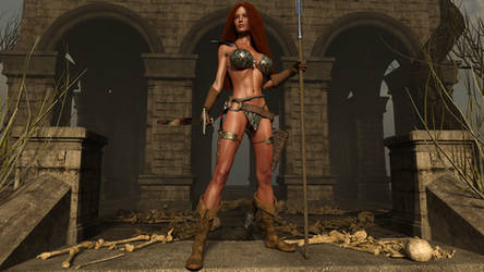 Red Sonja and the Temple of Shadows