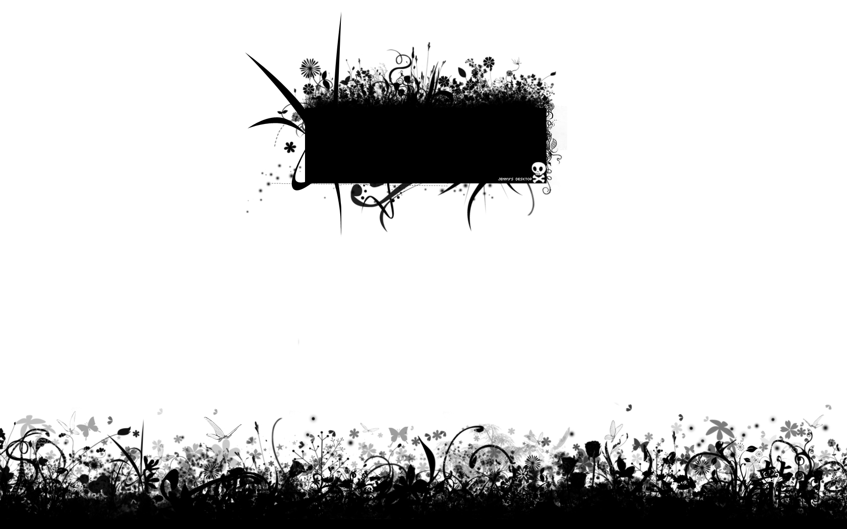 Black and white wallpaper by xtokidoki on deviantart - White and black wallpaper ...