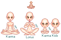 Karma Lotus Yoga Bases by Kitrakaya