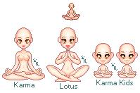 Karma Lotus Yoga Bases by Kitrakaya