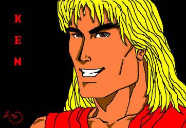 Ken Street Fighter by Kitrakaya