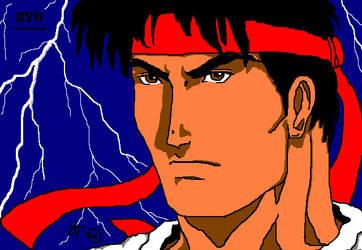 Ryu Street Fighter by Kitrakaya