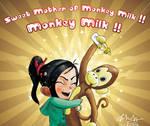Vanellope: Sweet mother of monkey milk!!