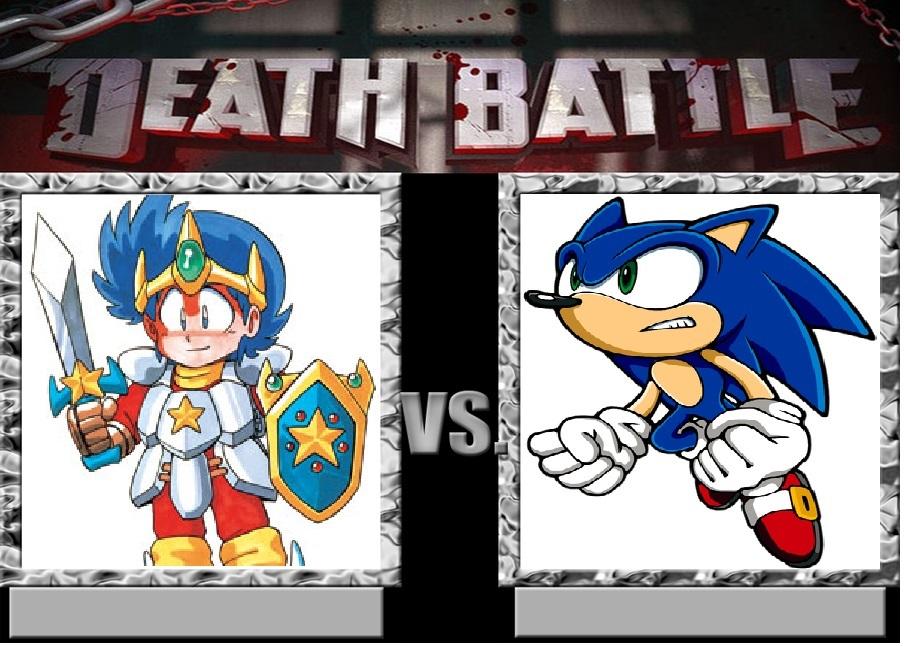 Shion VS Sonic On Death Battle by Joetoonmania