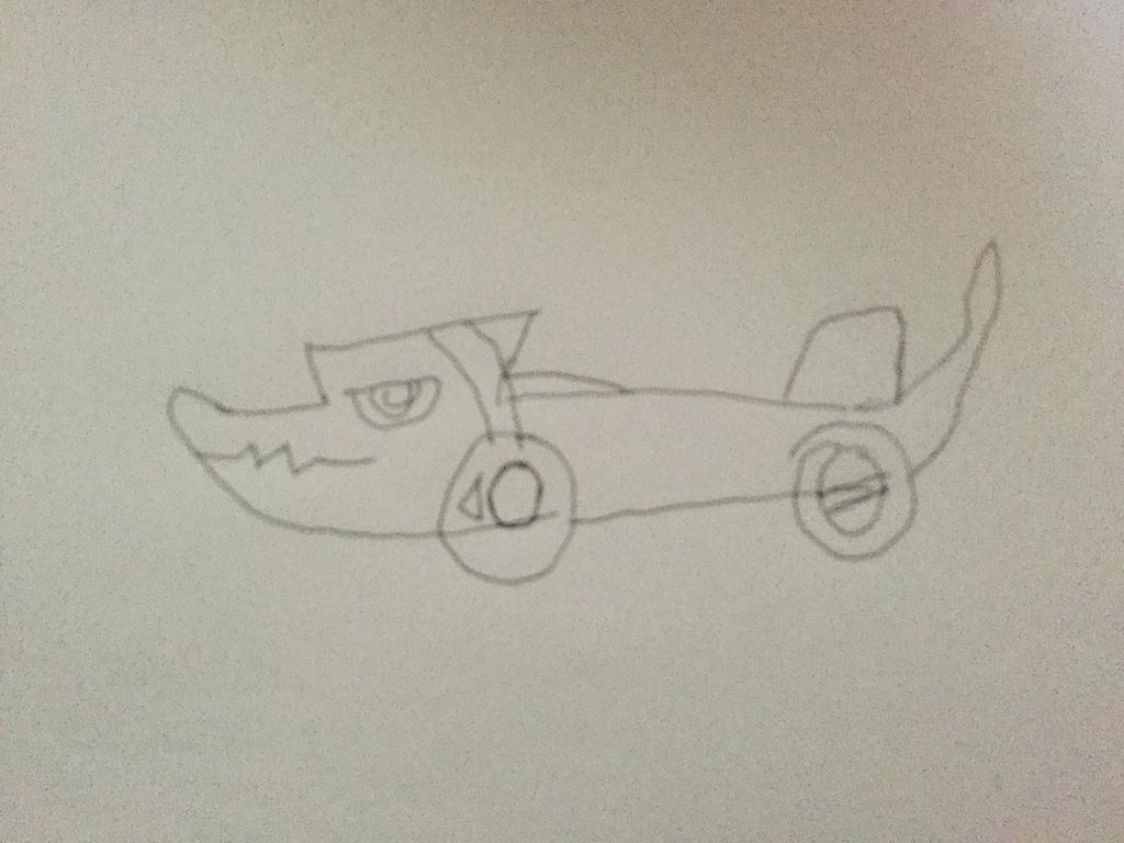 Shoutmon car with Mikey Kudo by Joetoonmania