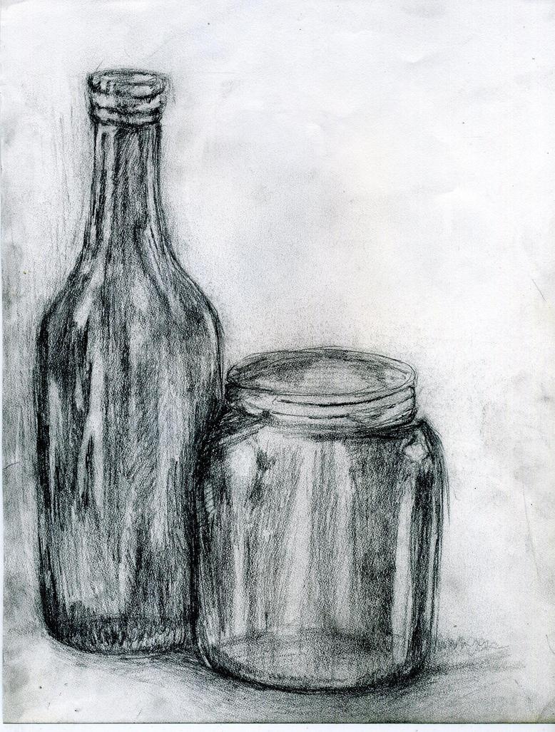Still Life Drawing  - Still Life Drawing By Fondofmusic Ndx