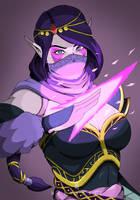 Lanaya (Templar Assassin) fanart by Nalendale