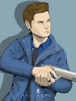 Dean Winchester fanart by Nalendale