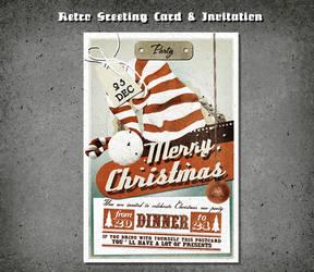 Vintage Christmas Flyer by elisamaggit