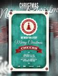 Christmas Flyer/Poster - Retro Vol. 3