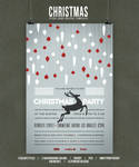 Christmas Flyer/Poster Retro Vol.4 by elisamaggit