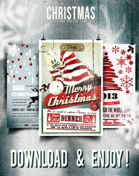3 MAGIC FLYERS/CARDS PERFECT FOR CHRISTMAS!!! by elisamaggit