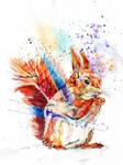 Red(ish) Squirrel