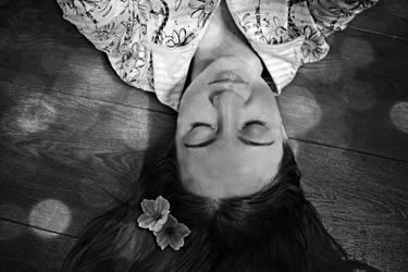 .flowers in my hair and demons in my head by NiKtaDark