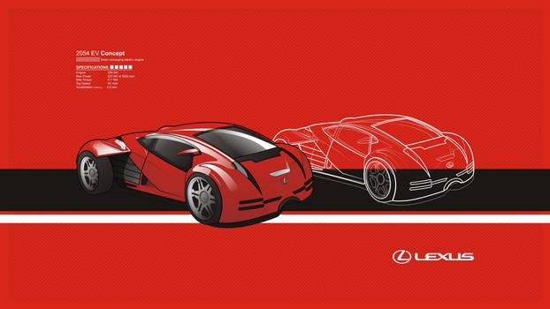 Lexus 2054 EV Concept
