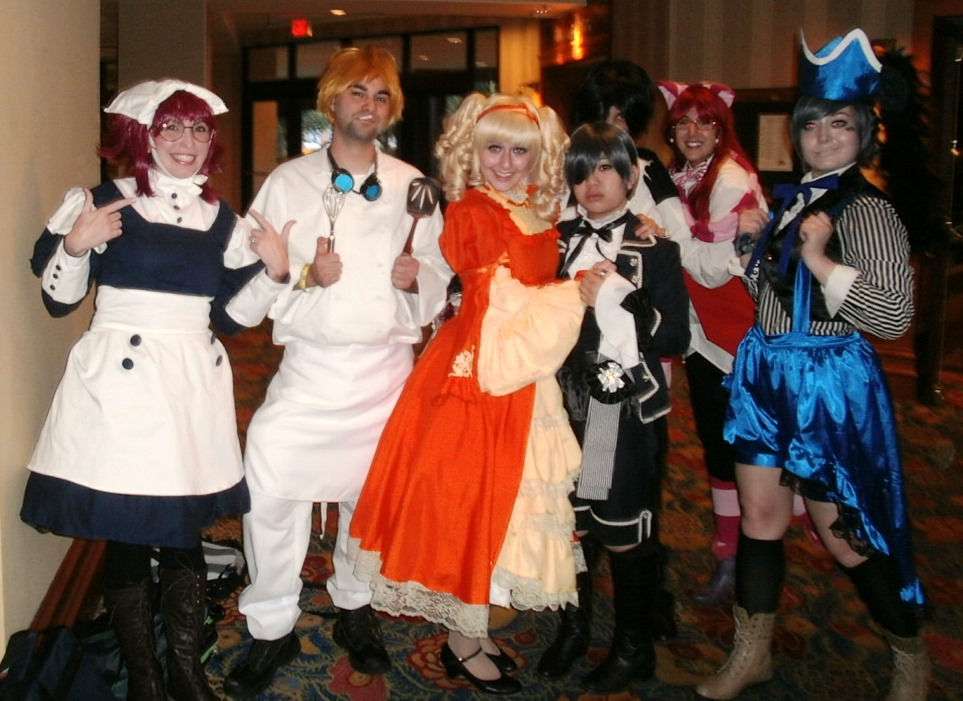 Black Butler Group Cosplay Anime USA 2013 By Lailari On DeviantArt