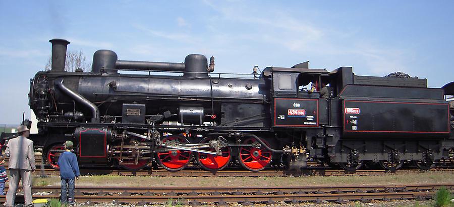 Steam loco 434.2186 side view by AnkaAI3 on DeviantArt Steam Train Side View