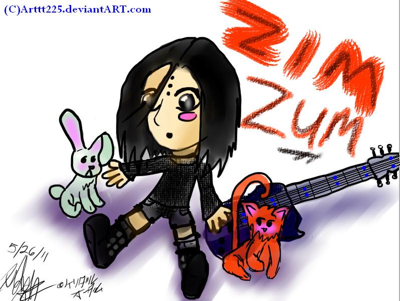 Zim Zum Chibi by Arttt225