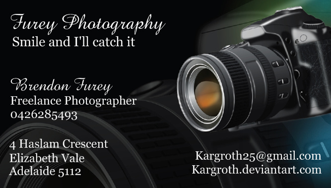 Photography Id Card by Kargroth