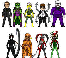 My Spider-Bats Rogues UPDATED